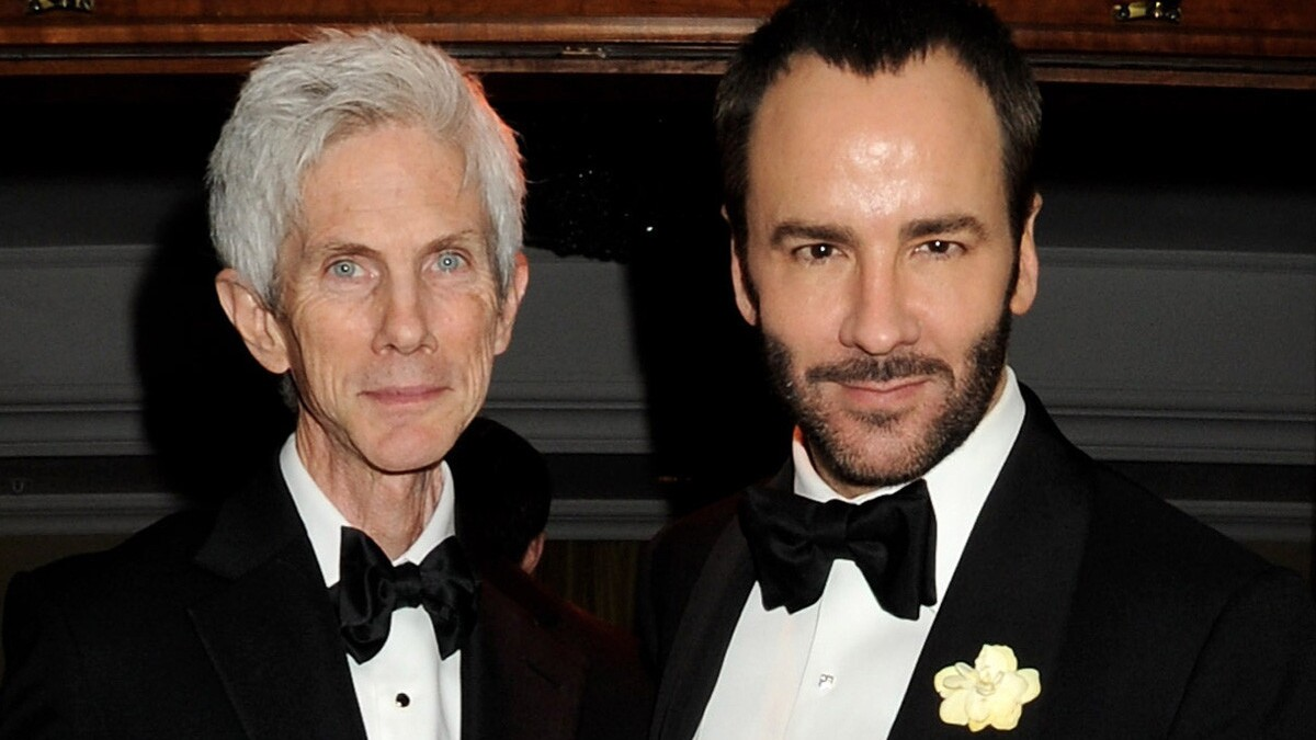 Designer Tom Ford Reveals He And Richard Buckley Are Married Los Angeles Times