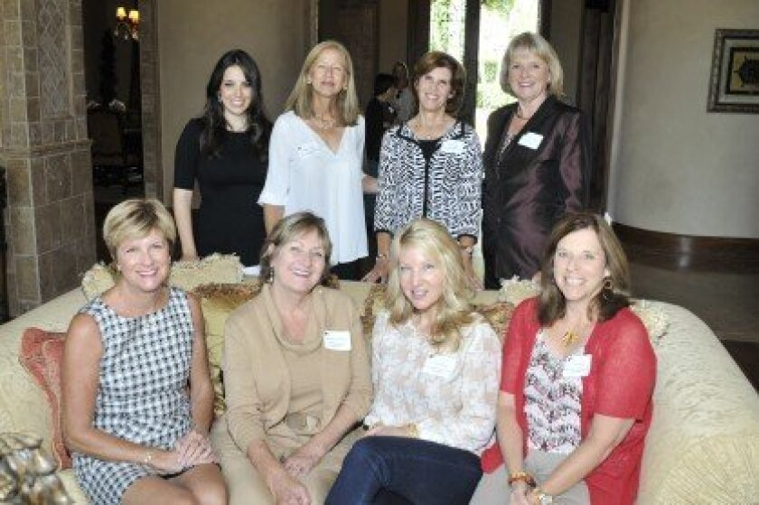 DreamKeepers Project board members at last year's Chocolate Event. Standing, left to right: Alexis Ranglas, Debbie Weiner, Pat Konkle and Pat Gregory, co-founder and vice president. Seated, left to right, Sarah King, President Sandi Chenoweth, Cami Brown and Lori Belli. This year's event will be Oc