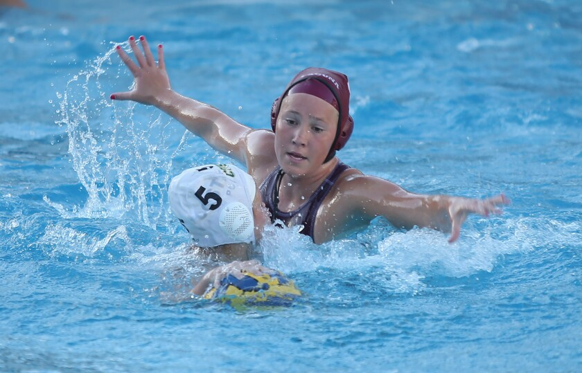 Defending champion Laguna Beach girls' water polo earns top seed in CIF Division 1 playoffs
