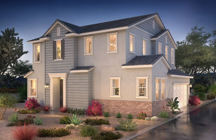 Homes at Summer come in a variety of architectural styles and floor plans.