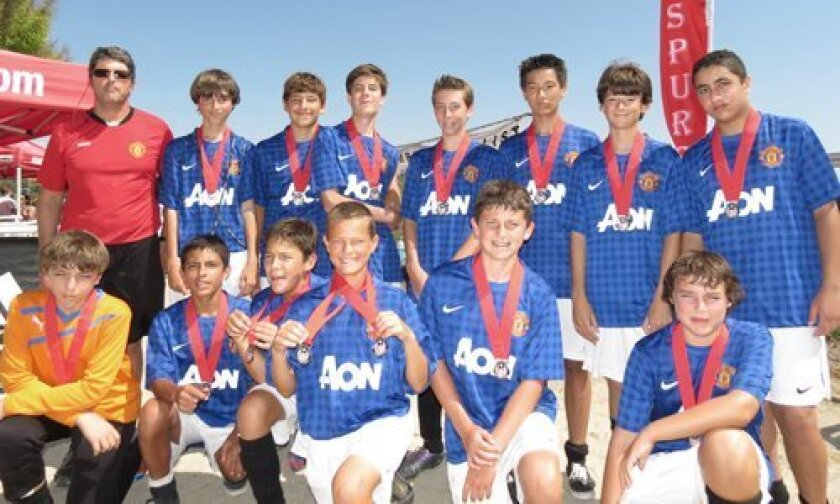 Pictured bottom row, left to right: Arthur LeReverend, R.J. Casillas, Alejandro Espinoza, Evan Corner, Sean OCallahan and Alex Kapich. Top row, Coach Malcolm Aste, Sebastian Schafer, Joe Aste, Jakab Zeller, Phillip Duvinage, David, Rodriguez, Mathew Clewley and Dimitrius. Not pictured: Yuaki Goto and CJ Ackel.