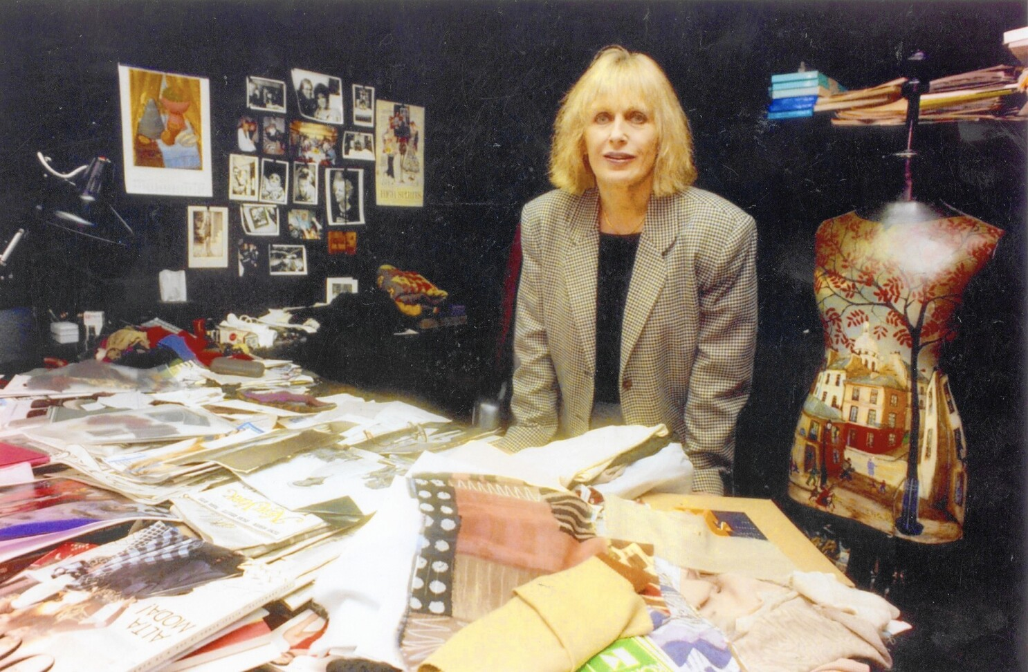 Carole Little Designer Of Working Women S Fashion Dies At 80 Los Angeles Times