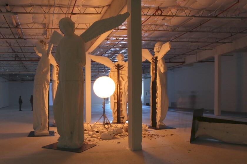 Loris Greaud's installation at Dallas Contemporary