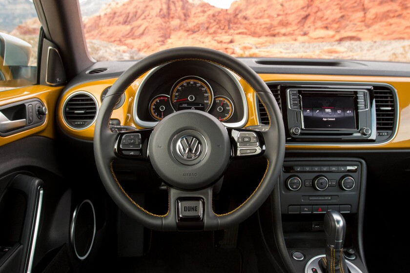 VW's Beetle Dune review: A new spin on a classic beach buggy - Los