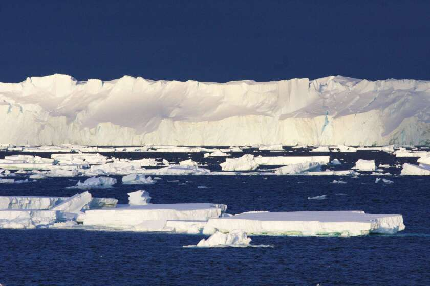 A new study suggests that climate models have been accurate in predicting accelerated warming of Earth's surface. Record-setting temperatures for the world's oceans in 2014 threaten to melt the Totten glacier, at the end of the massive East Antarctic continental ice sheet.
