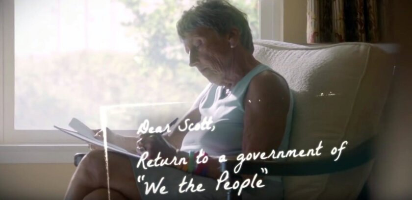 Congressional campaigns have begun running television ads.