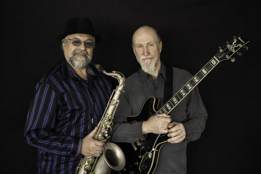 Joe Lovano (left) and John Scofield (right). Courtesy photo