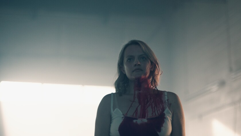 """""""The Handmaid's Tale,"""" with Elisabeth Moss, will return for its second season on April 25."""