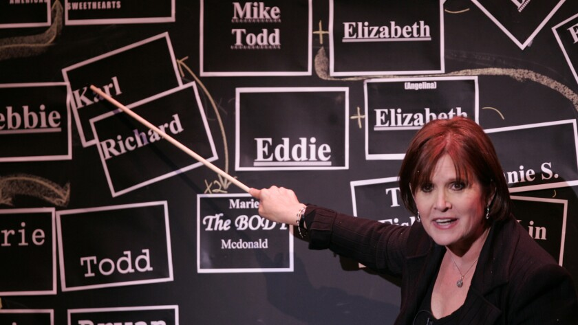 "Carrie Fisher developed her autobiographical show ""Wishful Drinking"" at the Geffen Playhouse in 2006."