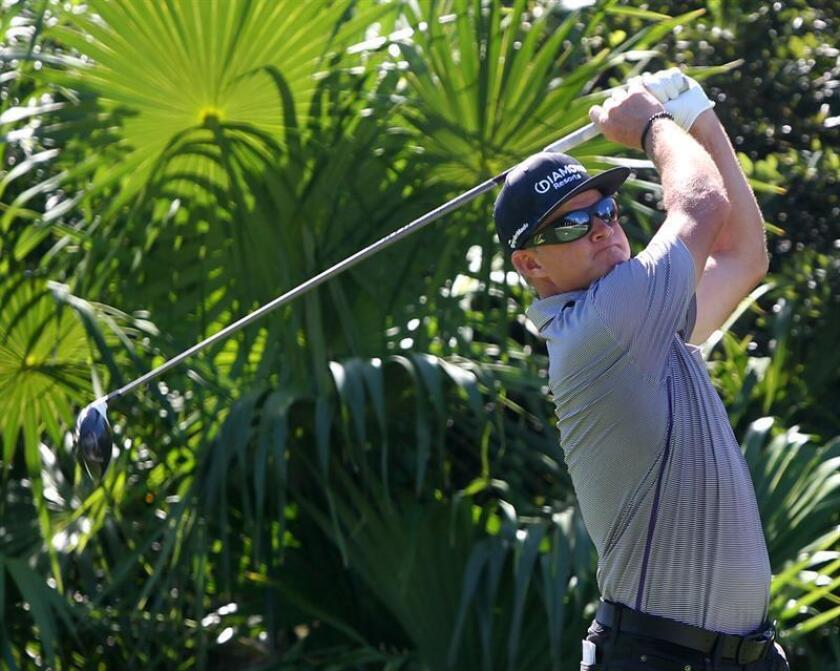 En la imagen, el golfista estadounidense Brian Gay. EFE/Archivo