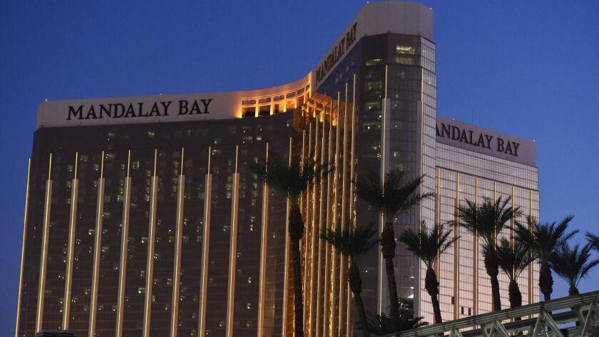 The Mandalay Bay Hotel & Casino in Las Vegas in 2017.