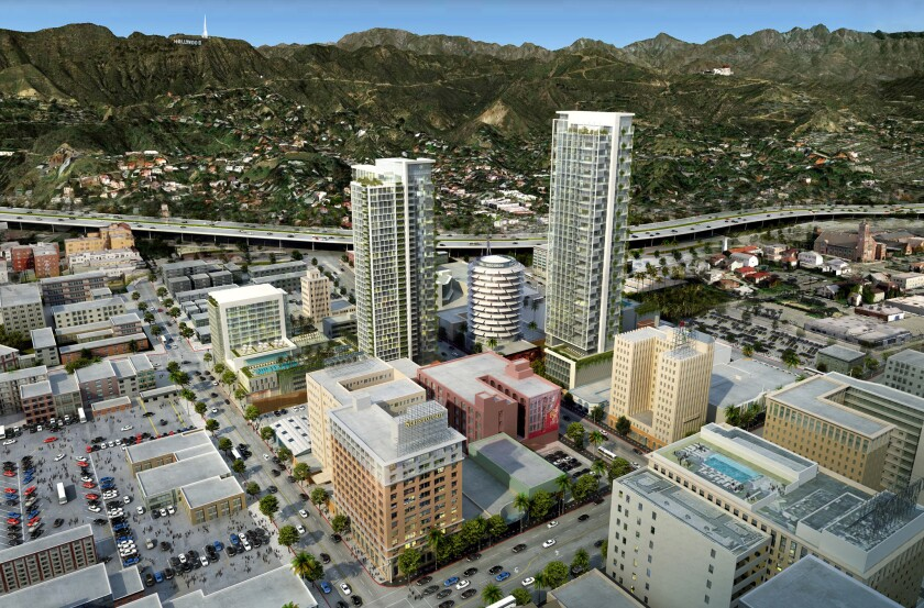 Proposed Millennium Hollywood project