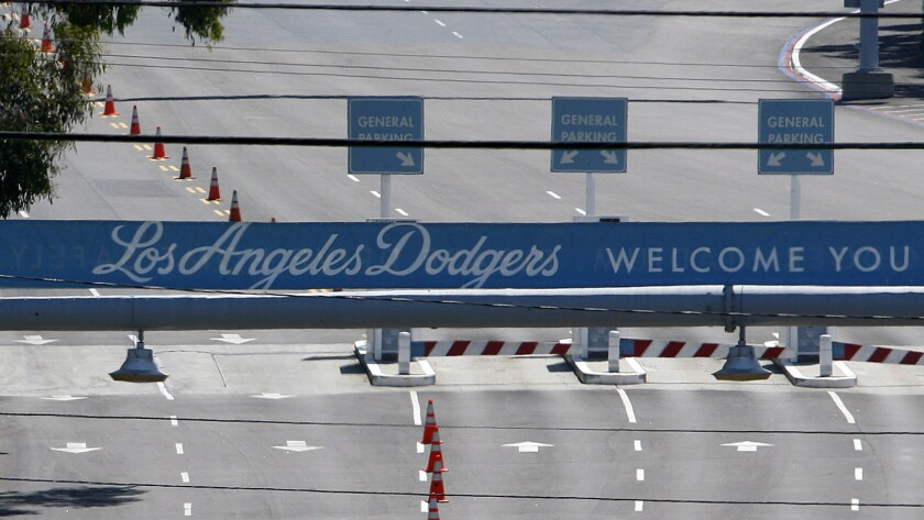 The assault took place in a Dodger Stadium parking lot.
