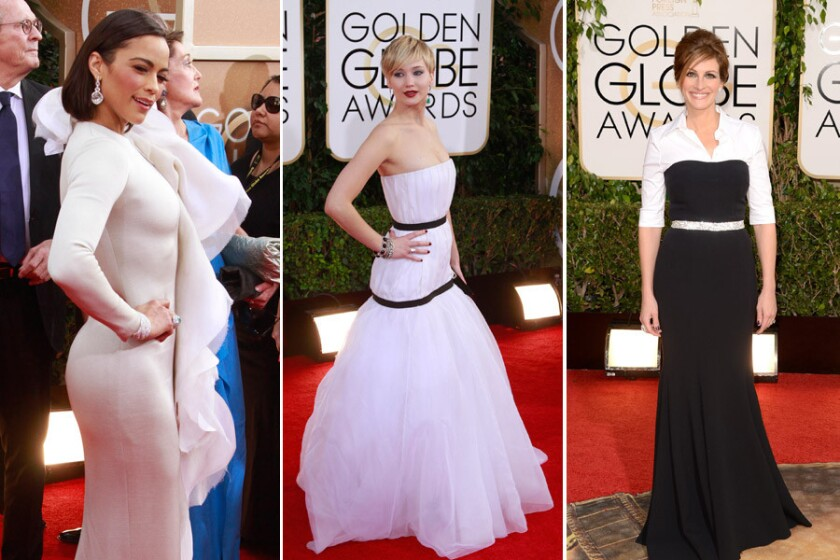 The Golden Globes 2014 fashion wild cards