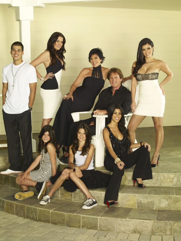 The Kardashian-Jenners in 2007