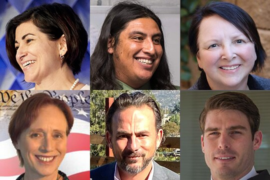Lesser-known candidates could shake up tight race to replace Hunter