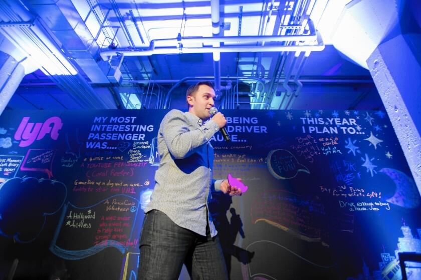 "According to Lyft co-founder John Zimmer, ""we're gaining market share on Uber."""