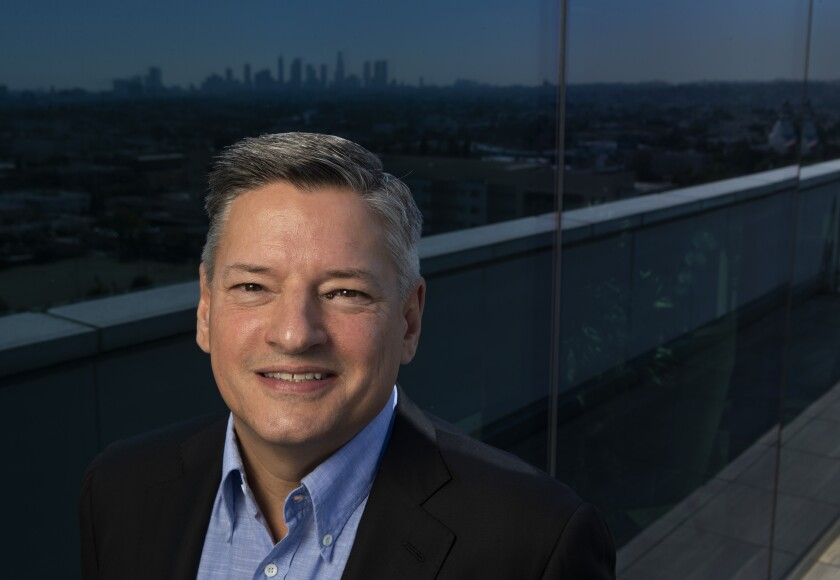 "Ted Sarandos, chief content officer for Netflix: ""The new set of competitors is actually just the old set of competitors."""