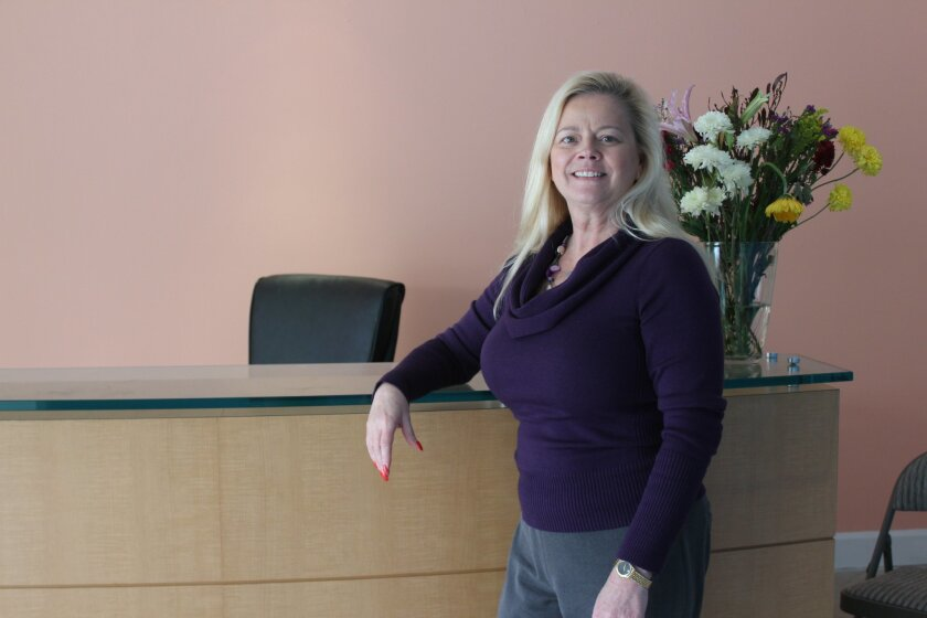 La Jolla Village Merchants Association Executive Director Sheila Fortune. Ashley Mackin