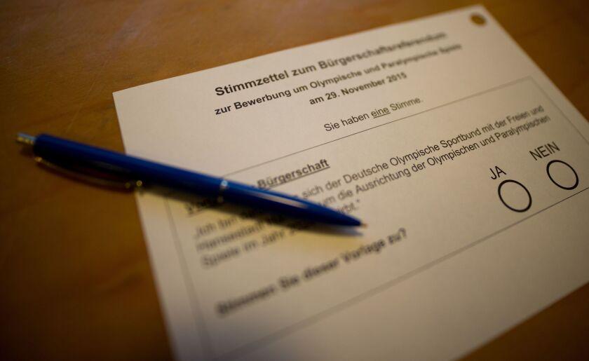 Hamburg ballot