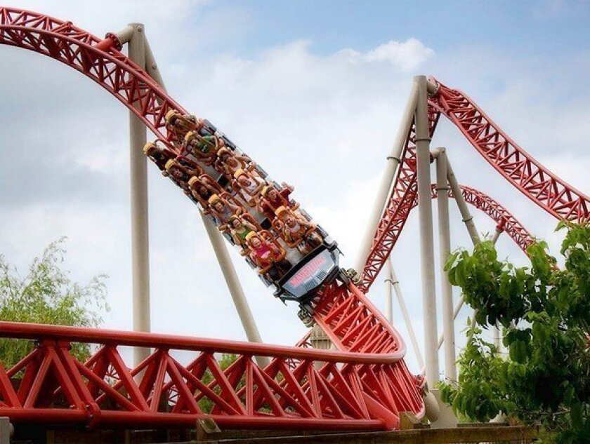 The Maverick at Ohio's Cedar Point, voted the best amusement park in the world by a trade publication, was a family high point.