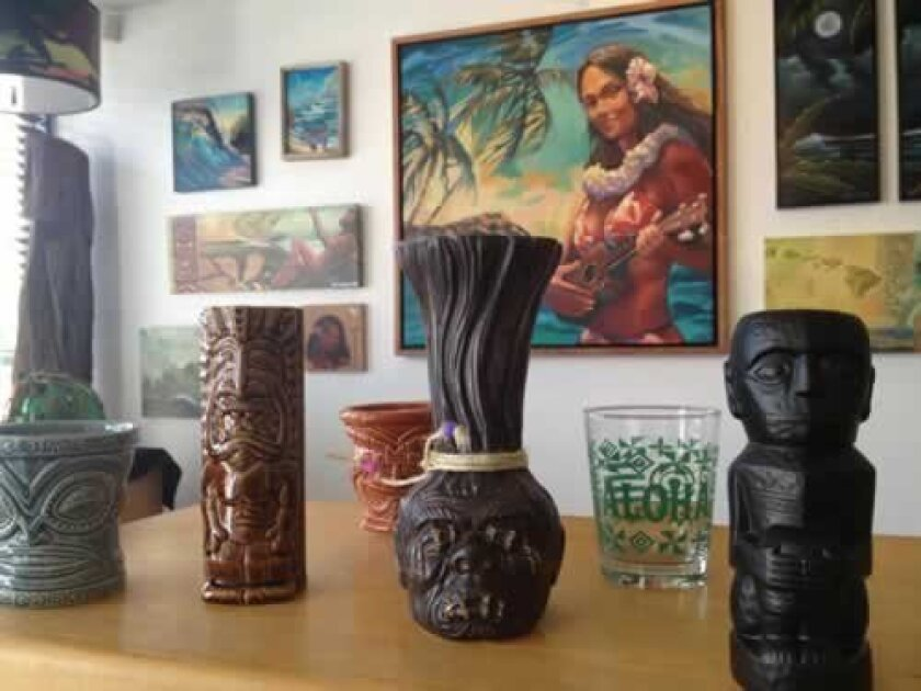 Culture Cove Gallery celebrates all things tiki! Will Bowen