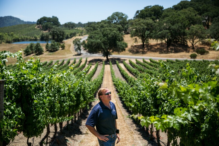 John Jordan's Jordan Winery near Healdsburg in Sonoma County has hosted several GOP fundraisers.
