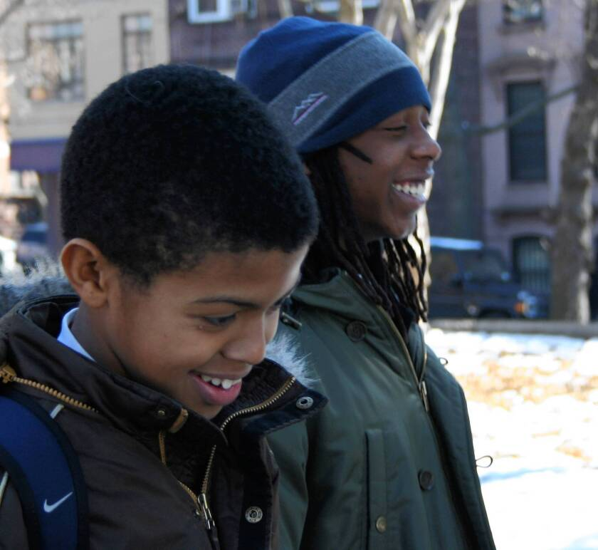 """The documentary """"American Promise"""" follows Idris Brewster and Seun Summers through their education."""