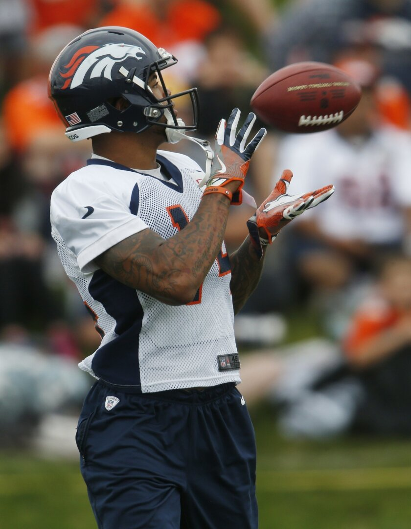 Young WRs impressing at Broncos training camp - The San Diego Union