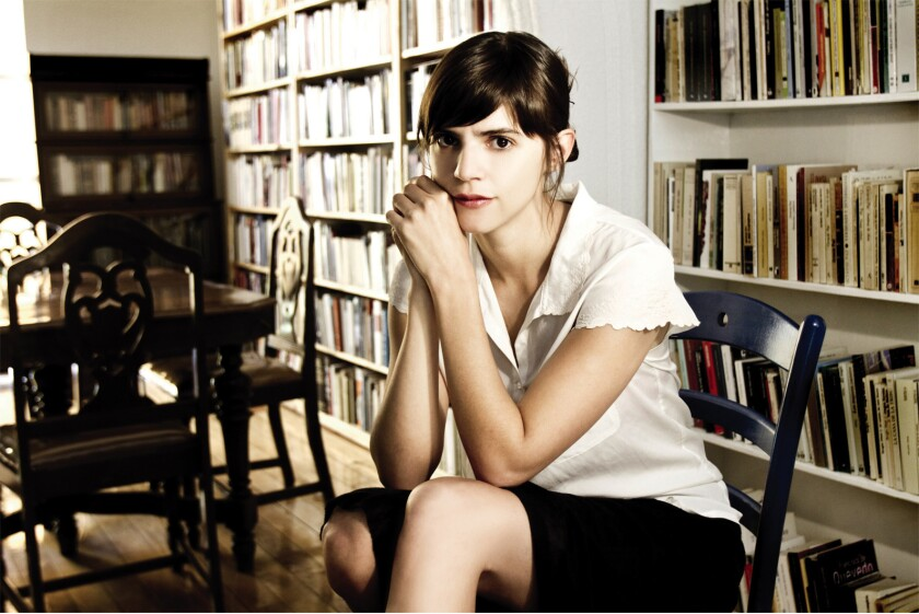"""Valeria Luiselli, author of the book """"The Story of My Teeth."""""""