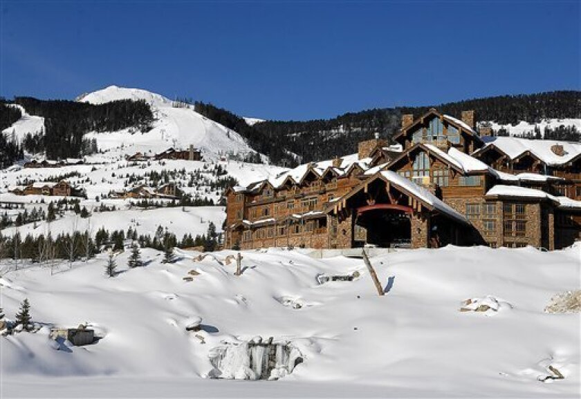 FILE - This undated file photo shows the Yellowstone Club near Big Sky, Mont. Two years after the bankruptcy of Montana's Yellowstone Club laid bare a massive real estate scheme fueled by greed, fraud and hundreds of millions of dollars in ill-advised loans, criminal investigators are probing the activities of one of the founders of the ultra-exclusive resort. (AP Photo/Bozeman Daily Chronicle, Erik Petersen, File)