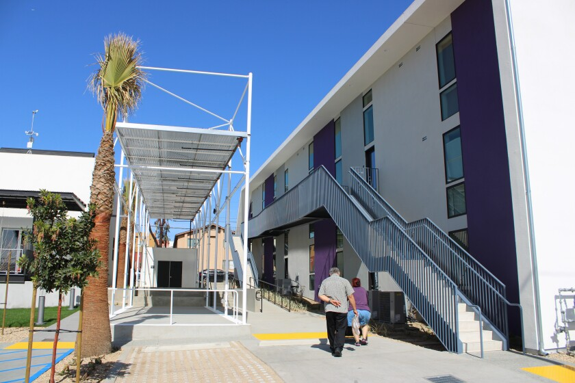 Living Rooms at the Border is a mixed-use space in the San Ysidro community