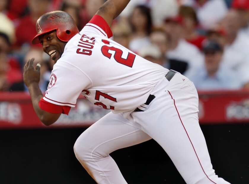 Vladimir Guerrero won the 2004 American League MVP award while playing with the Angels.