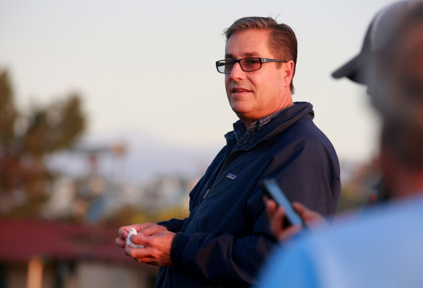 John Sadler will send out two horses in Saturday's San Diego Handicap at Del Mar.