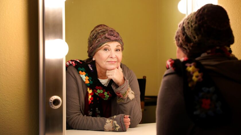 """""""I know there'll be room for me to come back later on,"""" Roseanne Barr said just days after her sitcom, """"Roseanne,"""" completed its original nine-season run."""