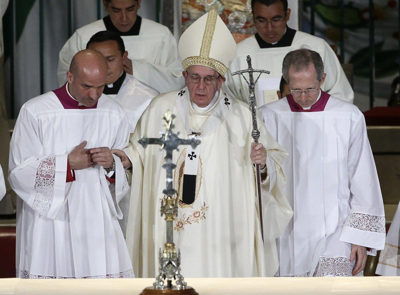Visita del papa Francisco a México - Día 3- domingo 14