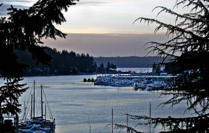 The scenic fishing village of Gig Harbor is tucked in a remote pocket on the western side of Washington's Puget Sound.