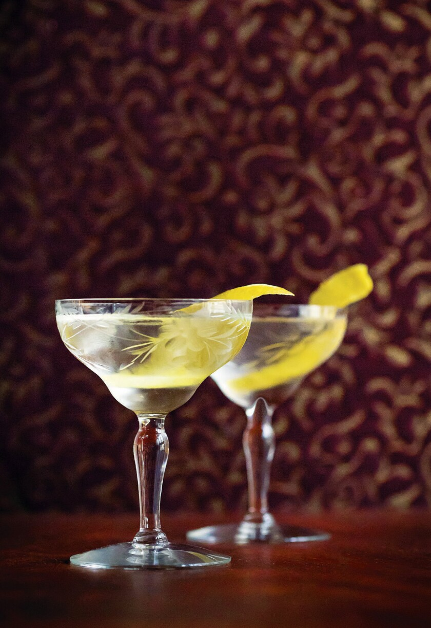 Gallagher's Steakhouse martini