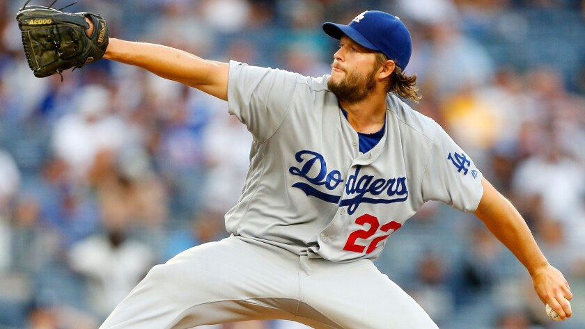 Dodgers ace Clayton Kershaw should be relatively healthy for the playoffs.