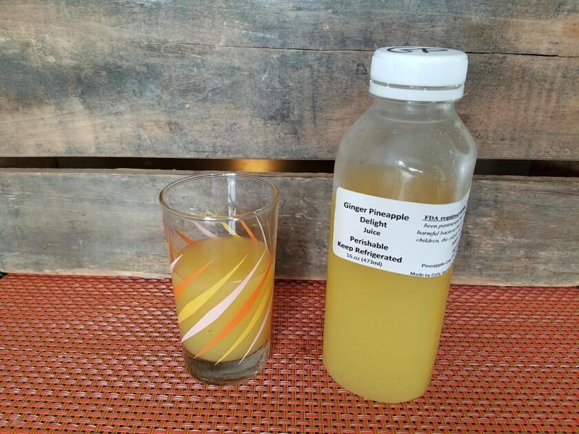 Gingernize juice