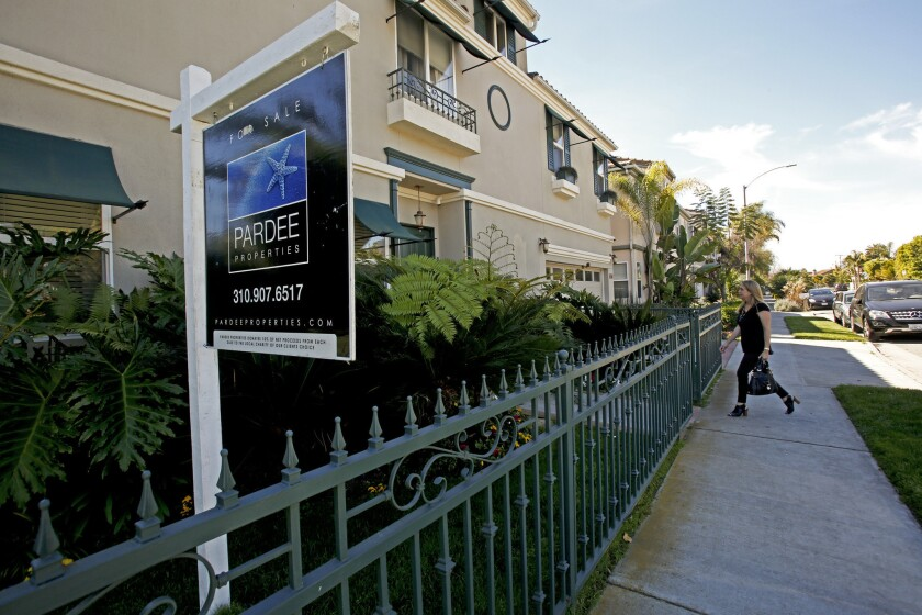 An open house at a home for sale in Venice earlier this month. Venice is among the best areas for sellers this spring, Zillow says.