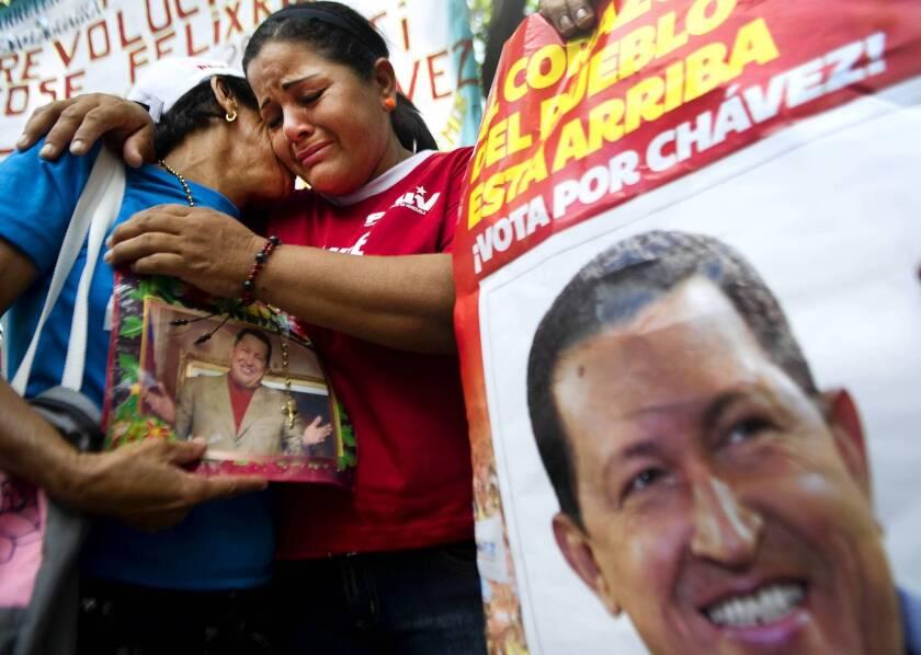 Venezuela contemplates next move with Hugo Chavez absent