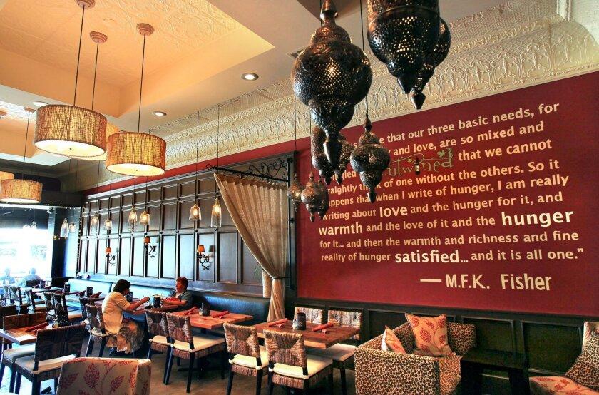 Inside Intertwined Bistro & Wine Bar in Escondido.