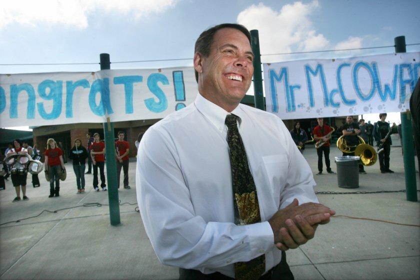 Superintendent Ron McCowan