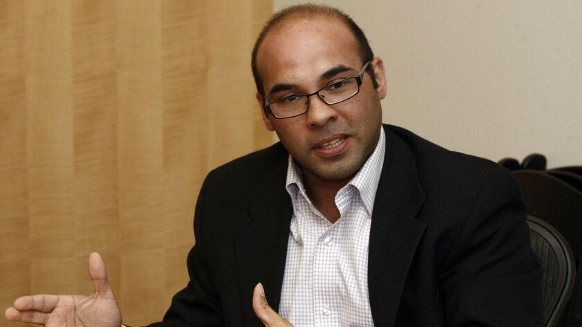 Farhan Zaidi in 2014.