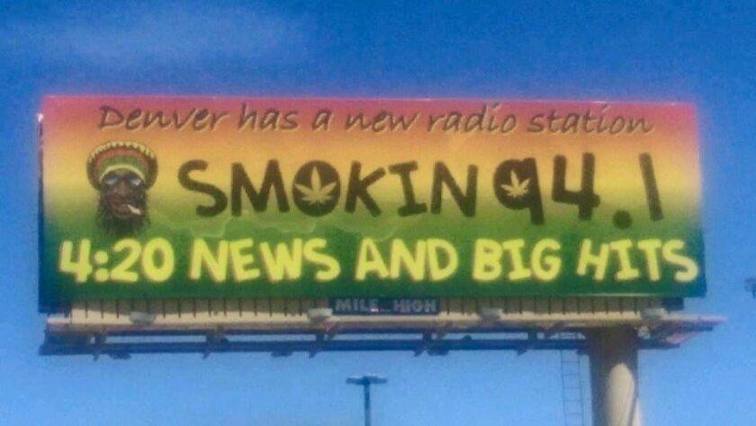 Marc Paskin's new Mile High City billboard.