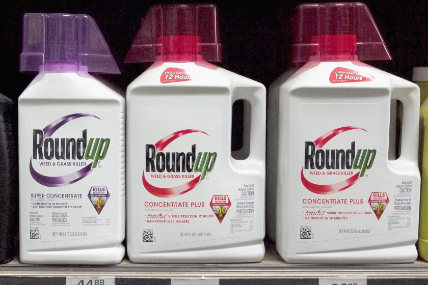 Roundup weed-killing products