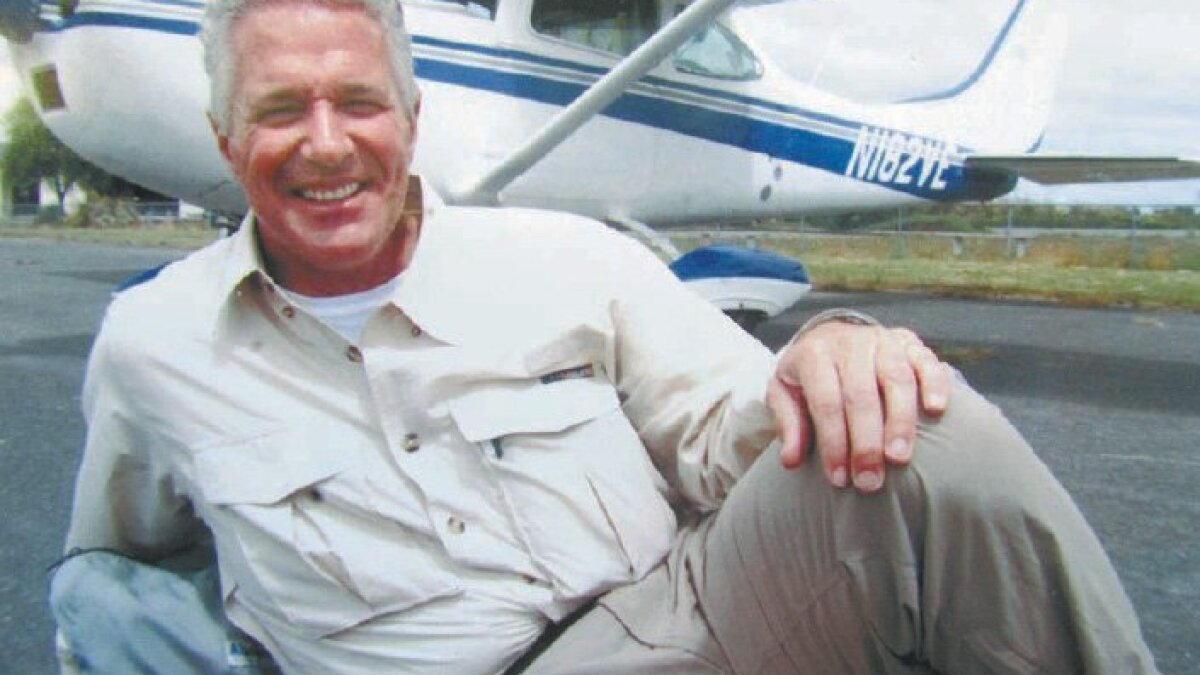 After a decade aloft, pilot is ready for a landing - The San Diego
