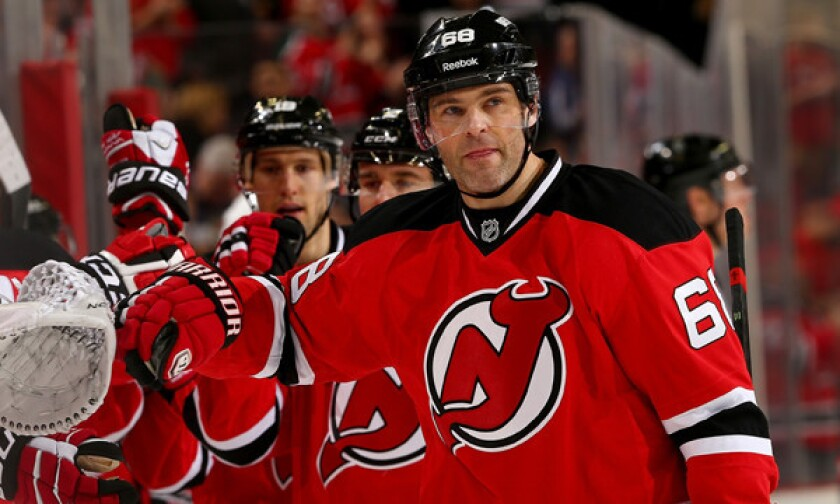 half off 8ded1 7d5f5 NHL pluses and minuses: Jaromir Jagr hits another milestone ...