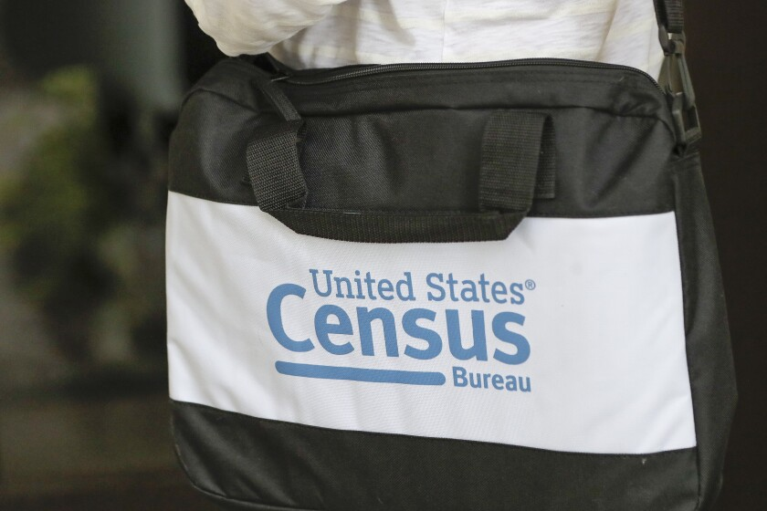 A briefcase of a census taker